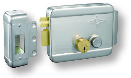 AX008 sand nickel two cylinder left lock